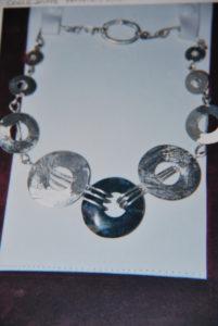 Collana in argento con centrale di agata € 108,00