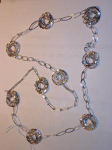cerchi concentrici con catena