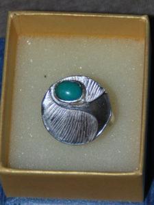 Anello in argento con turchese €. 65,00